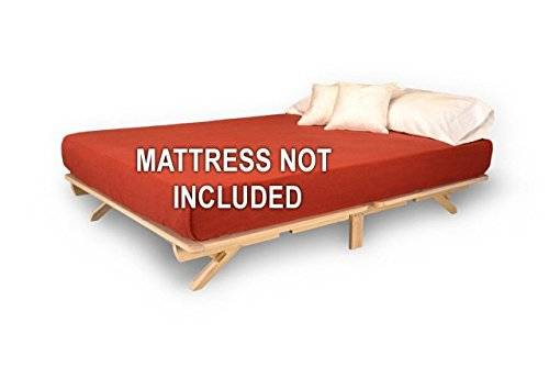 World of Futons Fold pact Bed Frame Queen Furniture Frames