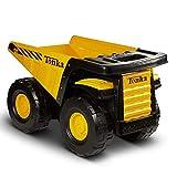 Tonka 90667 Toughest Mighty Dump Truck, (L x W x H) 12.00 x 19.00 x 10.75, Yellow