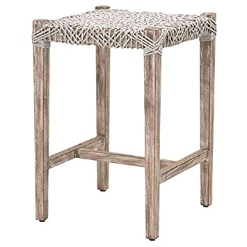 Sensational Amazon Com Maklaine 25 Counter Stool In Taupe And Natural Pabps2019 Chair Design Images Pabps2019Com