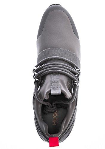 Hugo Hybrid Runn Uomo Sneaker Grigio grigio