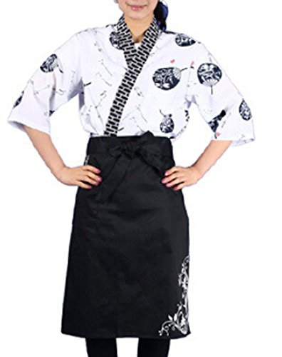 [Marshel Japanese Chef Itamae Costume Cosplay AX-JP-009 XL] (Rikku Cosplay Costume For Sale)