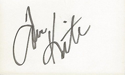 (Tom Kite Autographed Golf 3x5 Inch Index Card - 1992 U.S. Open Champion - 38 Pro Wins)