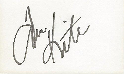 Tom Kite Autographed Golf 3x5 Inch Index Card - 1992 U.S. Open Champion - 38 Pro Wins ()
