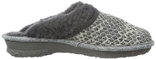 RohdeEmden - Pantuflas cálidas con forro Mujer Gris - Grau (Grau 80)