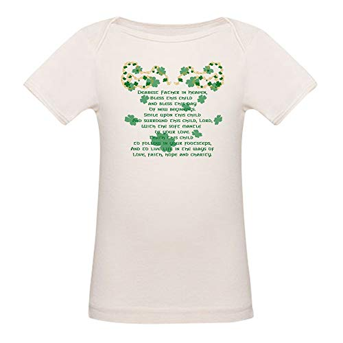 CafePress Gaelicchristening T Shirt Organic Cotton Baby T-Shirt ()