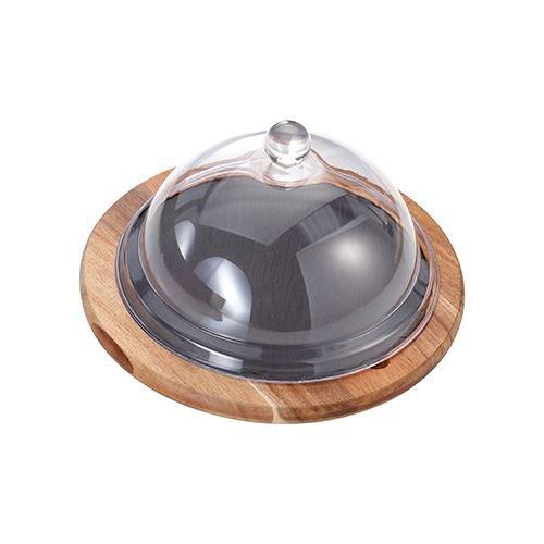 cheese board with dome - 8