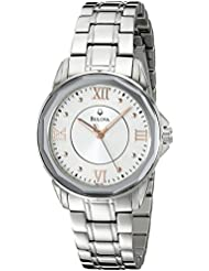 Bulova Womens 96L172 Dress Round Bracelet Watch
