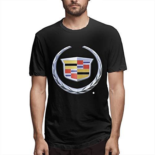 Tee Cadillac Logo Cool Men Fancy T- Shirt 3XL Black