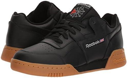 Black//Carbon//Classic red 6 M US Reebok Mens Workout Plus Cross Trainer