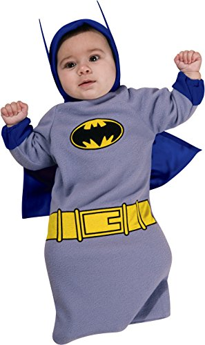 Batman Zero Year Costume (Batman The Brave And The Bold Baby Bunting, Batman Print, 0-9 Months Costume)
