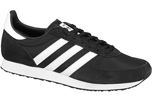 Adidas - ZX Racer - S79202 - Color: Black-White - Size: 9.5