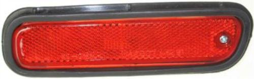 CPP Direct Fit Rear, Left Side Red Lens Side Marker for 94-00 Honda Accord HO2860106 - Honda Accord Rear Side Marker