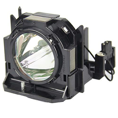 (CTLAMP ET-LAD60 Genuine Original Bulb Inside with Housing Compatible with Panasonic PT-D6000 PT-D6000ES PT-D6000LS PT-D6000ELS PT-D6000S PT-D6000US PT-D6000ULS PT-DW6300 with 200 Days Warranty)