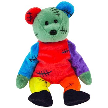 TY Frankenteddy the Bear Beanie Baby  Amazon.co.uk  Toys   Games 35fb3aa7d326