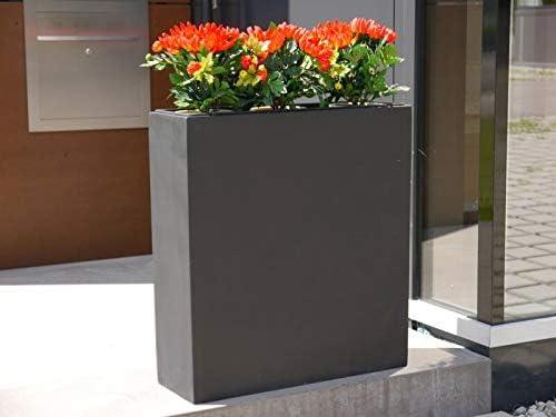 Biombos Divido de la feria alemana del jardín de fibra de vidrio en diferentes colores: Amazon.es: Jardín