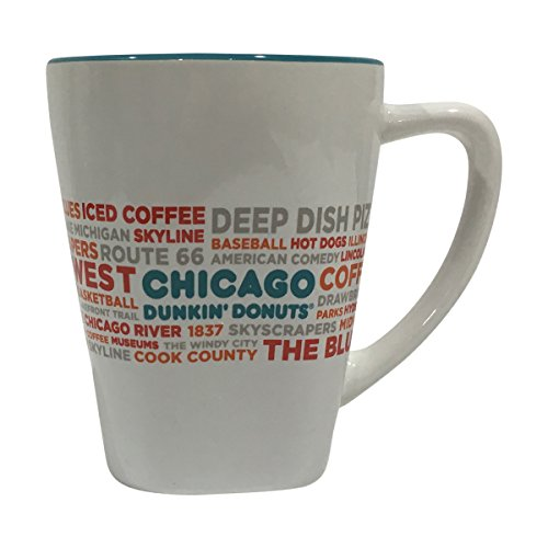 Dunkin Donuts Limited Edition Destination Mugs - New York - Boston - Florida - Chicago (Chicago)