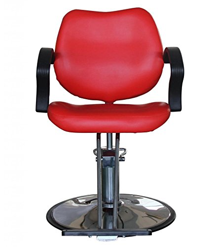 FlagBeauty Hair Beauty Salon Equipment Hydraulic Barber Styling Chair (red) by flag beauty (Image #2)