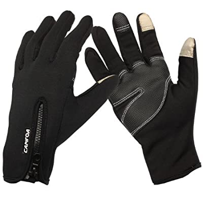 CAMTOA Unisex Winter Outdoor Sports Touchscreen Gloves - Cold Weather Gloves / Mittens for Smart Phone