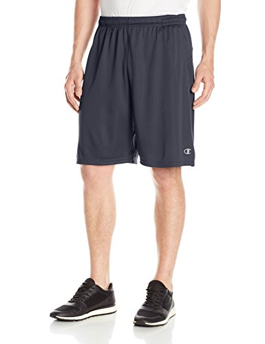 (Champion Men's Double Dry Select Short, Navy, 2XL)