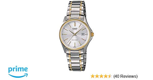 Amazon.com: Casio General Ladies Watches Metal Fashion LTP-1183G-7ADF - WW: Casio: Watches