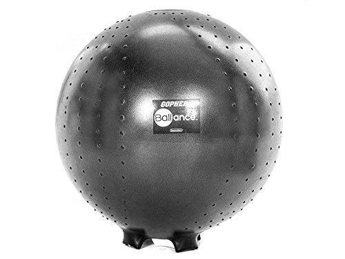 Gopher BALLance Stability Ball Chair (65cm, Adult)