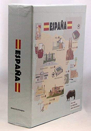 España en relieve álbum de fotos 100 fotos/4 x 6: Amazon.es: Hogar
