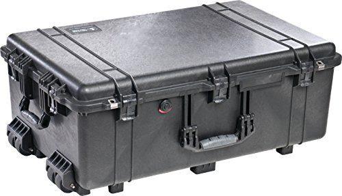 Pelican 1650 Case With Foam Black