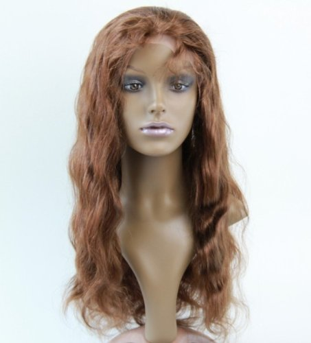 """Full Lace Wigs 12"""" malaysian Hair 100% Remy Human Hair Wig Body Wave #4 trademark:hairpr"""