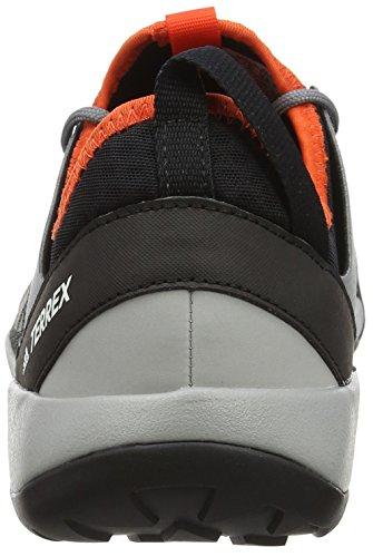 adidas Terrex Swift Solo, Scarpe da Arrampicata Uomo Grigio (Vista Grey/Core Black/Energy)