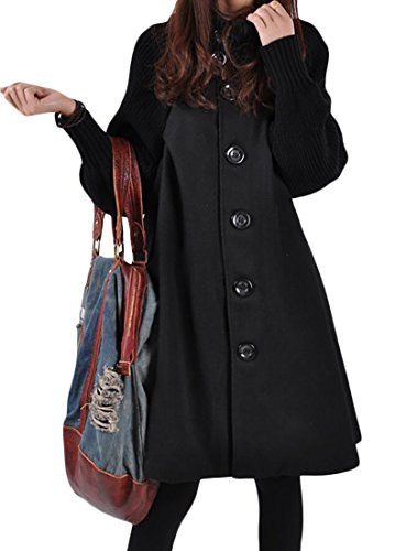 Knee Length Cashmere Blend Overcoat - 9