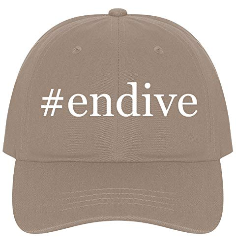 The Town Butler #Endive - A Nice Comfortable Adjustable Hashtag Dad Hat Cap, Khaki, One Size ()