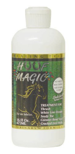 HEALING TREE PRODUCTS HUUF MAGIC-850 Huuf Magic Thrush Antiseptic, 16 oz by Healing Tree Products Thrush Magic