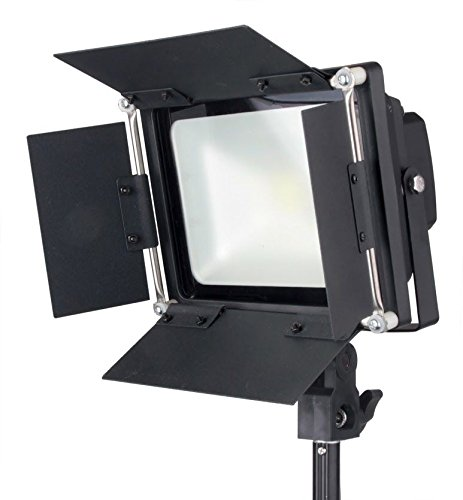 LED 100 Watt Barndoors Photography Photo Video Light All Metal Body Steve Kaeser Photographic Lighting by PBL