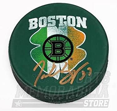 Cam Neely Boston Bruins Signed Autographed St Patrick/'s Day Hockey Puck
