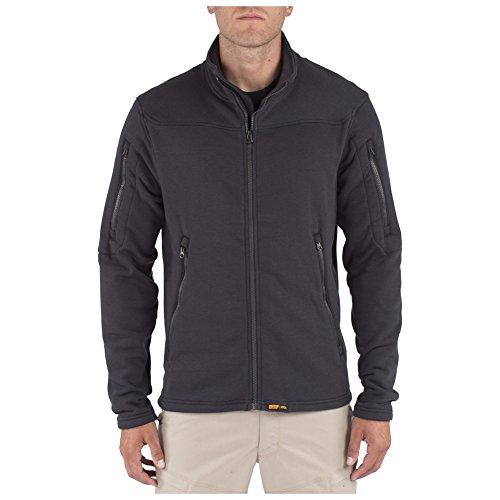 Outerwear 5.11 Tactical Jackets (5.11 Men's Fire Resistant Polartec Fleece Jacket, Black, X-Large)