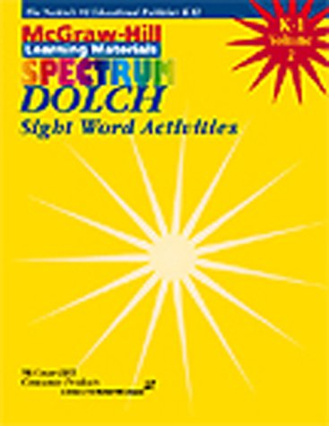 Dolch Sight Word Activities, Grade K-1, Vol. 2 - Dolch Readers
