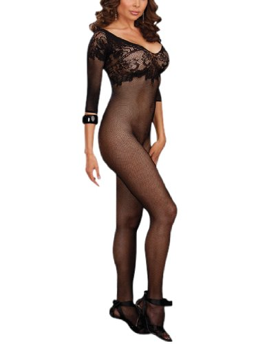 Dreamgirl Women's Queen Size Budapest Bodystocking