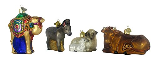 Old World Christmas Nativity Collection Glass Ornaments Set of 9 14020 by Old World Christmas (Image #2)