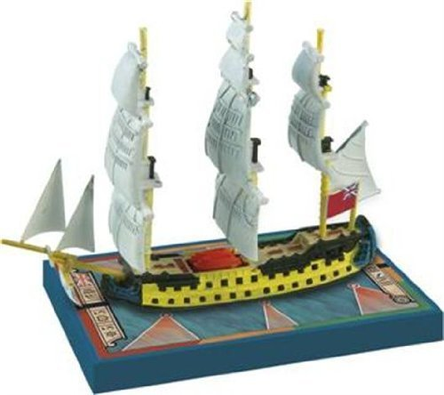Sails of Glory Ship Pack - Hms Bellona 1760 Board Game by Ares Games
