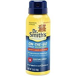 Dr. Smith's On-the-Go Diaper Rash Spray, 3.5 Ounce