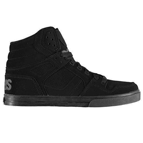 Sneakers da Nero Clone skateboard Grigio Scarpe Osiris Uomo Fg6ZO