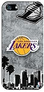 The Newest NBA Los Angeles Lakers Terms Iphone 5c Case Cover for Sport Fans Club