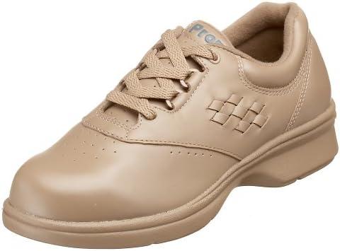 Propet Women's W3910 Vista Walker Comfort Shoe , Taupe Smooth ,  8.5 Wide US