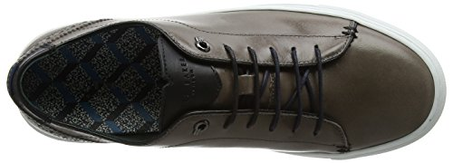 dark 2 Grigio Uomo Baker Sneaker Grey Ted Duuke EnYqZR