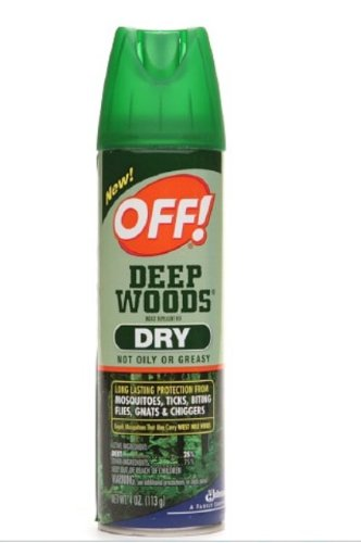 OFF! Deep Woods Dry Insect Repellent VIII 4 oz (3 Pack) by OFF!