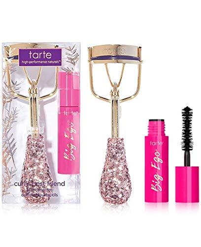 Tarte Curls Best Friends Lash Curler Set Big Ego Mascara in Black