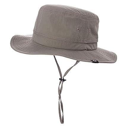 fbeba5a0816 Fancet Mens Safari Flat Brim Sun Blocker Protection UPF50 Fishing Bonnie  Bush Hat Bucket for Women