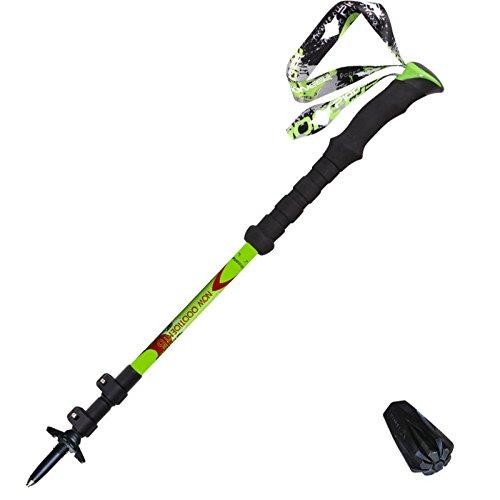 DSFGHE 99% Carbon Fiber Trekking Pole Lock Ultra Light Rock Climbing Rock Climbing Rod High Hardness Belt Bag,A-62-135CM - Baja Rod Belt