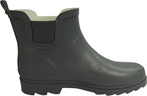 NORTY Womens Matte Garden Rain Ankle Boot Spring Boots Charcoal Ladies Waterproof Winter r4rBp