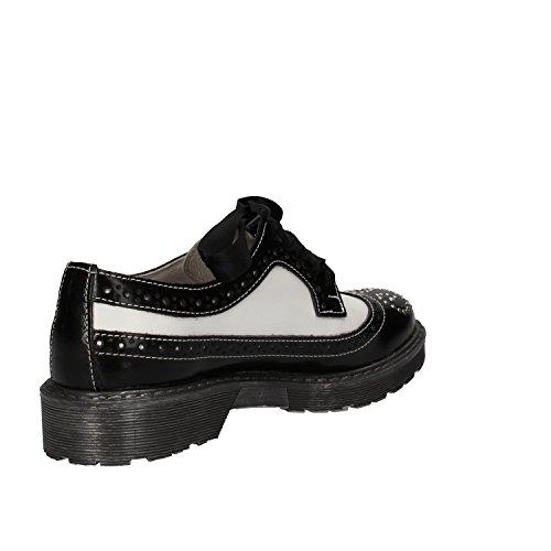 BEVERLY HILLS POLO CLUB - Zapatos de cordones para mujer blanco / negro